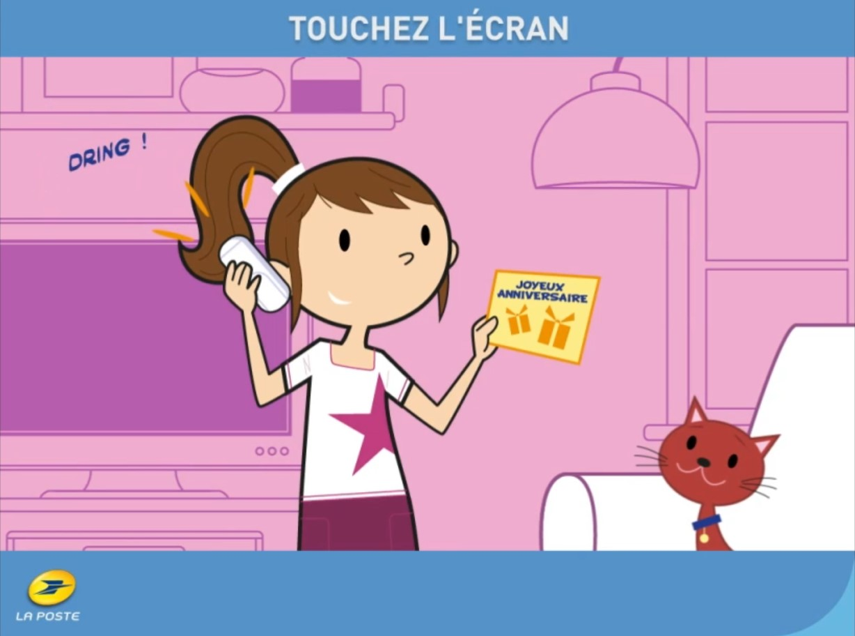 La Poste Animation Ecran